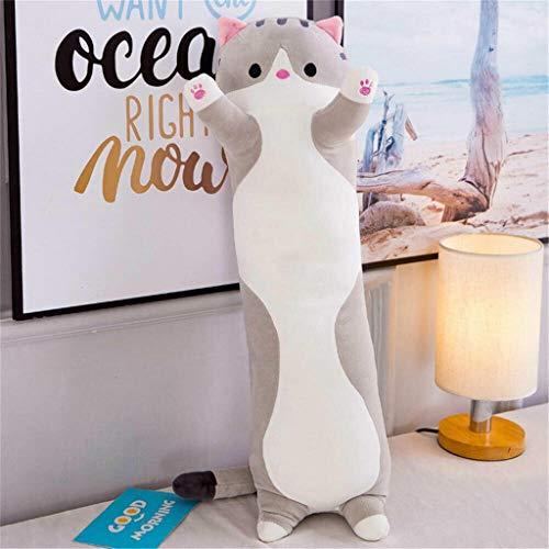 Hunpta @ Niedlich Katze Karikatur Weiches Plüschtiere, 50/70/ 90 cm Plüsch Spielzeug Kuscheltier Puppe Home Deko Kissen Stofftier Geburtstag Weihnachten Geschenk für Kinder Junge Mädchen