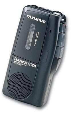 Olympus S-701 Diktiergerät schwarz