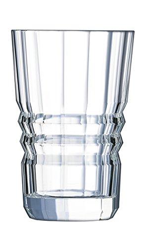 Cristal d'Arques L6585 Set de 6 Gobelets, Transparent