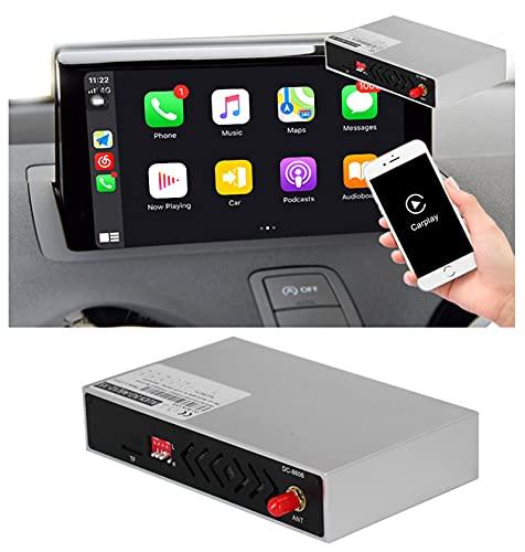 Buladala Wireless Compatible con Interfaz CarPlay para Audi A1 Q3 2011 2012 2014 2015 2016 2017 2018 Soporte Android Auto Mirror Link AirPlay Reverse Image,MMI 3g