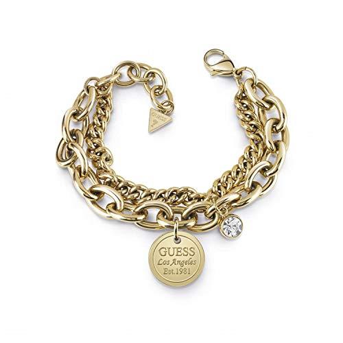 Guess Damen Gliederarmbänder Vergoldet - UBB28068-S