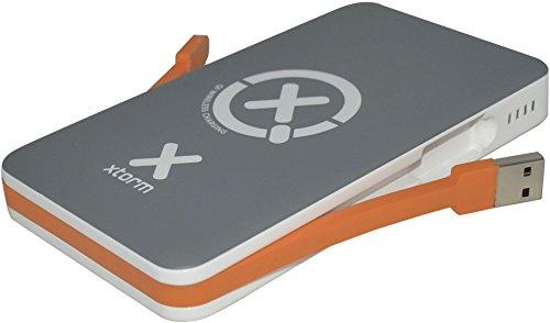 Xtorm XB103 batería externa Gris, Blanco Ión de litio 8000 mAh - Baterías externas (Gris, Blanco, Teléfono móvil/smartphone, Tablet, MP3/MP4, GPS, Lector de libros electrónicos, Google Nexus 4+5, Nokia Lumia 920-928, HTC Droid DNA, Samsung S5, Ión de litio, 8000 mAh, USB)