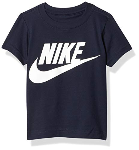 Nike Kids Baby Boy's Short Sleeve Graphic T-Shirt (Toddler) Obsidian 2T Toddler