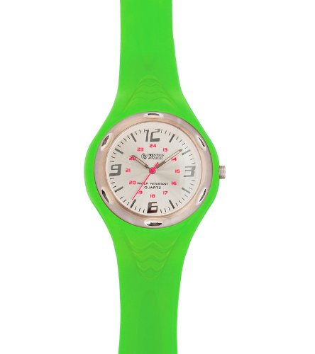 Prestige Medical 1888 Sportmate Scrub Watch, Neon Green