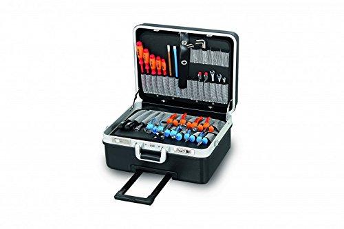 Werkzeugkoffer Basic XXL aus ABS, schwarz