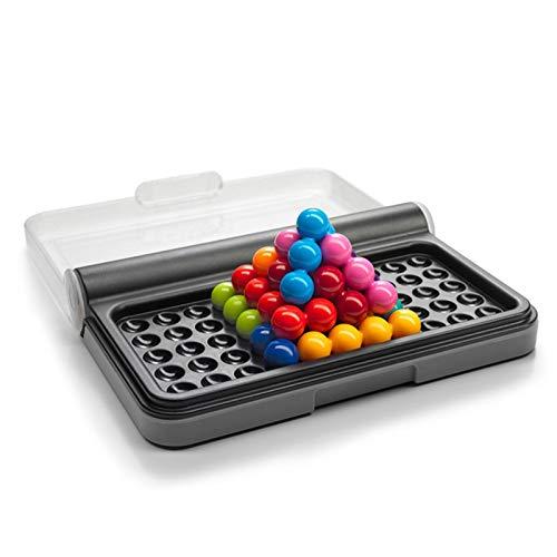 meetgre IQ Puzzler, Brain Twisting 3D-Puzzlespiel Für Kinder, Smart Games Intelligence Challeng, Mit 120 Herausforderungen, Kognitives, Gehirnbildendes Gehirnspiel Ab 6 Jahren