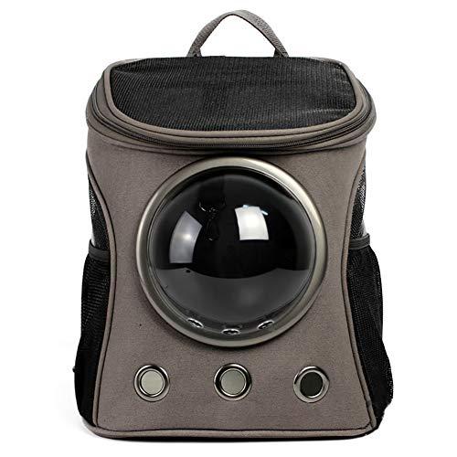 Haustier Katze Hund Rucksack Raum Kapsel Pet Bag Out Tragetasche Outdoor-Reisen Wandern Katze KäFig PoröSe Atmungsaktive (32 * 38 Cm) (38 * 45 Cm)
