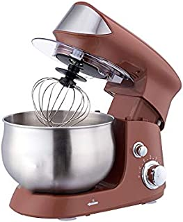 WCHCJ Stainless Steel Bowl Electric Stand Food Mixer Cream Blender Knead Dough Cake Bread Chef Machine Whisk Eggs Beater (...