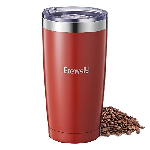borraccia termica 900 ml Brewsly Borraccia Termica Acciaio Inossidabile (Rosso