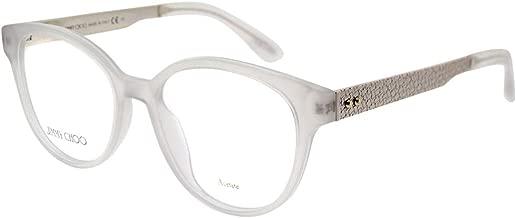 Jimmy Choo JC159 White Crystal Eyeglasses