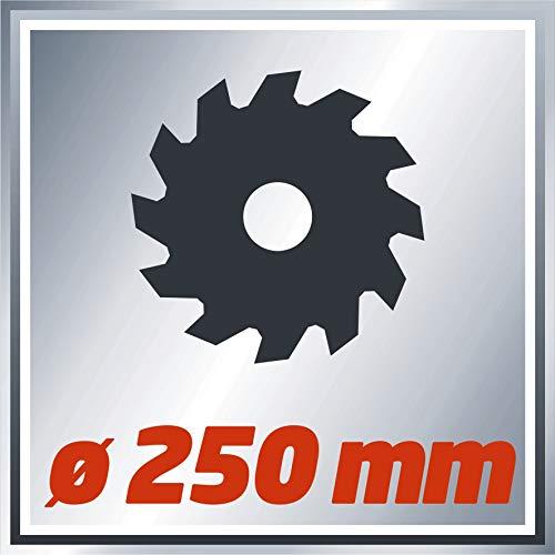 Einhell Zug Kapp Gehrungssäge TC-SM 2534 Dual (2350 W, Sägeblatt Ø 250 mm, Schnittbreite 340 mm, schwenkbarer Sägekopf, Laser) - 3