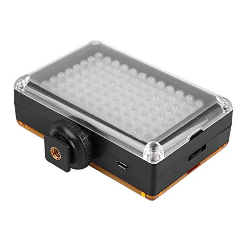 DAUERHAFT Lithiumbatterie Videofotografielicht Videolicht Einstellbar für alle fotografischen Umgebungen
