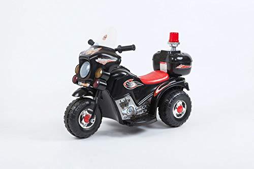 Toyas Kindermotorrad Elektromotorrad Kinderfahrzeug Dreirad Kinder Polizei Motorrad