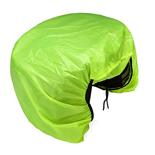 Tuimiyisou Saddle Rain Cover Bicycle Pannier Cover Waterproof with Elastic Dust-Proof Protective for Road Mountain Bikes Green