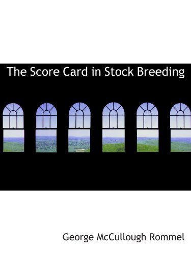 The Score Card in Stock Breedingの詳細を見る