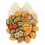 Thun - Stampo in ceramica primavera, 15 x 15 x 4 cm