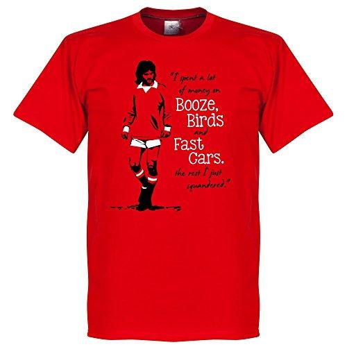 George Best T-Shirt - rot - XL