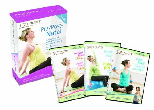 Stott Pilates: Prenatal Pilates (3 Dvd) [Edizione: Stati Uniti] [Reino Unido]