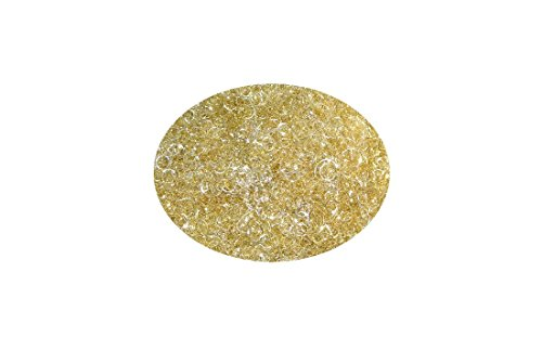 Lametta Engelshaar gelockt 50 Gramm Gold - Silber (champagner)