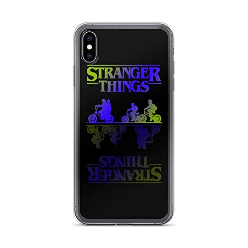 Compatible con iPhone 6 Plus/6s Plus Funda Stranger Friends TV Shows Series Crystal  Pure Clear Cajas del Teléfono Cover