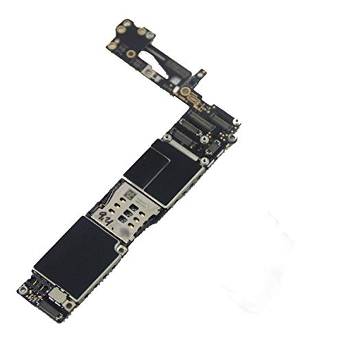 Tablero de lógica Ajuste for iPhone 6 Placa Base sin Touch ID aptas for el iPhone 6 Placas lógicas con Sistema iOS (Color : 64GB)