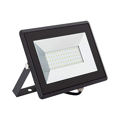 LEDKIA LIGHTING Foco Proyector LED Solid 50W Blanco Cálido 3000K
