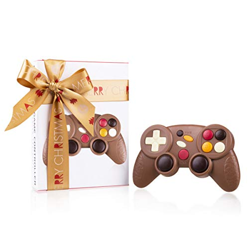Xmas ChocoController - Game-Controller aus Schokolade zu Weihnachten | Videospiel Fan | Weihnachtsgeschenk | Kinder und Erwachsene | Weihnachtsschokolade | Kinder | Erwachsene