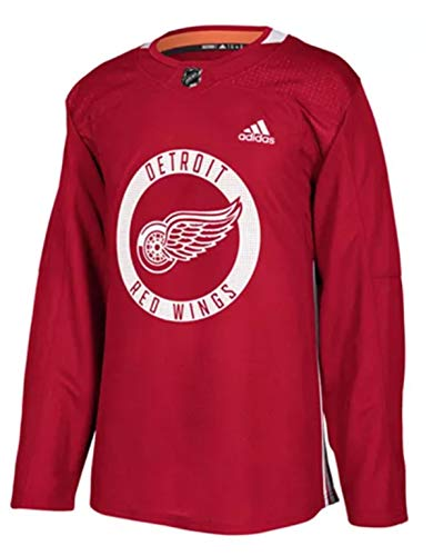 adidas Detroit Red Wings NHL Men's Climalite Authentic Practice Jersey