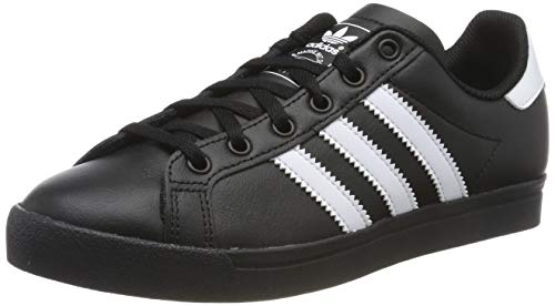 adidas Unisex-Kinder Coast Star Sneaker, Schwarz (Core Black/Footwear White/Core Black 0), 37 1/3 EU