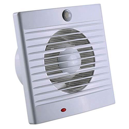 XJJZS Multi-Velocidad con Sensor de Movimiento Ventilador de ventilación, Techo de la Sala-Side instalación de baño Extintor