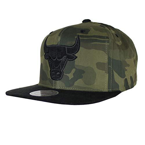 M&N Basecap CHICAGO BULLS camouflage Snapback onesize