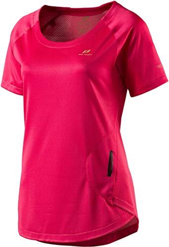 Pro Touch Damen Rosita T-Shirt, AOP/Pink/Red Light, 38