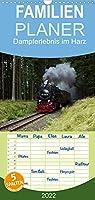 Dampferlebnis im Harz - Familienplaner hoch (Wandkalender 2022 , 21 cm x 45 cm, hoch): Erleben Sie die Dampflokomotiven im Harz (Monatskalender, 14 Seiten )
