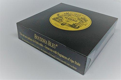 Inconnu Mariage Frères - Bouddha Bleu (Nouveau!!) - Boîte de 30 sachets Mousseline de thé