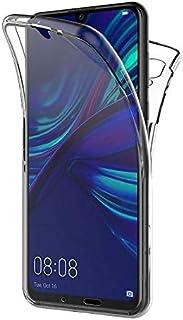 هواوي هونار 8 اكس جراب 360 درجة قطعتين الوش سليكون وظهر بلاستيك - شفاف