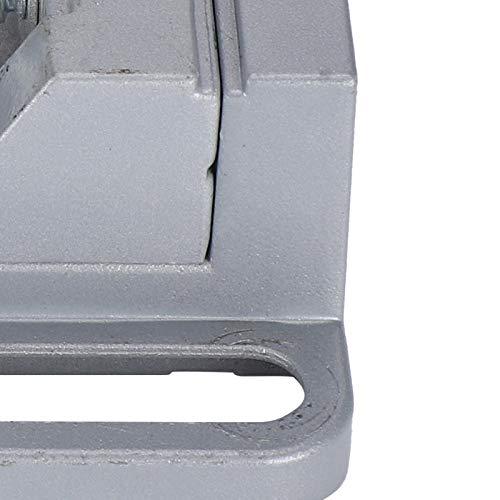 Tornillo de banco para banco de trabajo, tornillo de banco, punta plana en miniatura en ángulo recto Preciso para banco de trabajo Taladro de piso