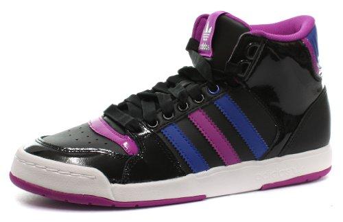 adidas Midiru Court Mid 2 W, Chaussures de Gymnastique Femme, Noir, 36 2/3 EU