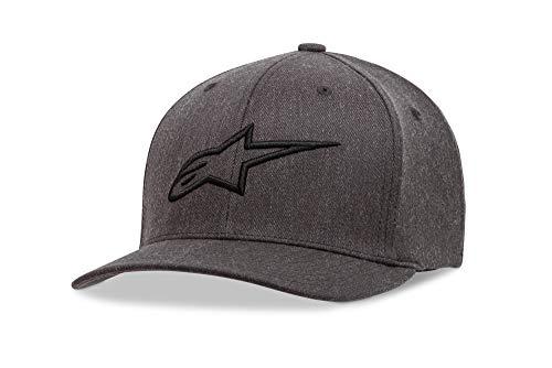 Alpinestars Men's Ageless Curve Hat, Charcoal/Grey, Large/X-Large