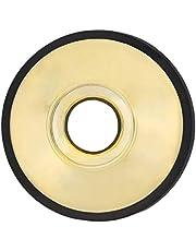 mingtongli Saxofón Alto Silencio Ligera ABS Sax Silenciador de Instrumentos de Viento de Madera silenciador Instrumento de Viento de Accesorios, Oro