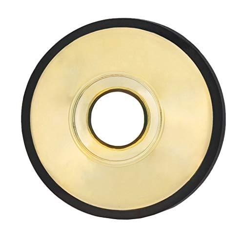 Demper voor altsaxofoon Lichtgewicht ABS-demper, ABS-saxofoon Sax Silencer Woodwind Instrument-accessoire, goud