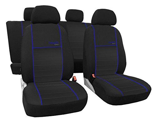 Maßgefertigter Autositzbezug Für Corsa E ab 2014-2019, Beste Qualität Sitzbezüge im Design Trend LINE (erhältlich in 6 Farben).