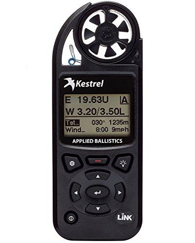 Kestrel Elite Wetter Meter sowie Waffe und, mit Bluetooth Link Einheitsgröße schwarz