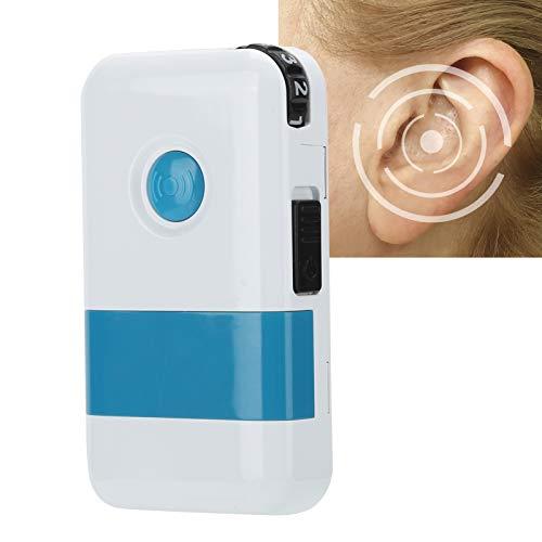 Brrnoo Amplificatore Acustico Digitale, Amplificatore Audio Riduzione del Rumore Apparecchio Acustico Portatile Amplificatore Acustico con Due modalità Impostabili