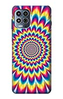JP3162MG1 カラフルなサイケデリック Colorful Psychedelic For Motorola Moto G100 用ケース