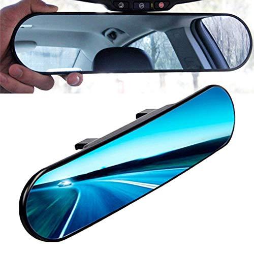 Kentop - Specchietto retrovisore per auto, universale, antiriflesso, rotondo, con angolazione regolabile