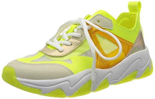 bugatti Damen 432846035069 Sneaker, Beige (Beige/Yellow 5250), 37 EU