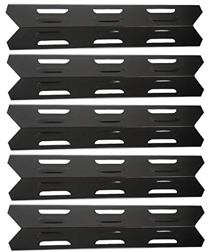 Htanch PN2071(5-Pack) 16 1/8 Porcelain Steel Heat Plate Replacement for Perfect Flame SLG2006C, SLG2006CN, SLG2007A, SLG2007B, SLG2007BN, SLG2007D, SLG2007DN, SLG2008A