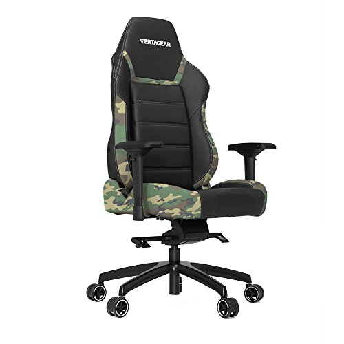 Product Image 3: Vertagear P-Line 6000 Racing Series Gaming Chair, X-Large, Black/Camouflage