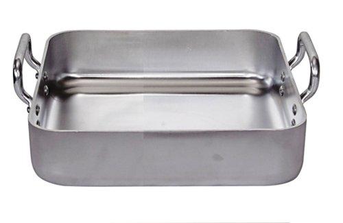 DE BUYER -7664.30 -plat a rotir rectang. alu.2 a.f.30x30