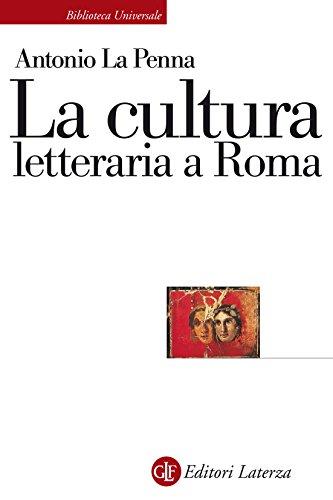 La cultura letteraria a Roma
